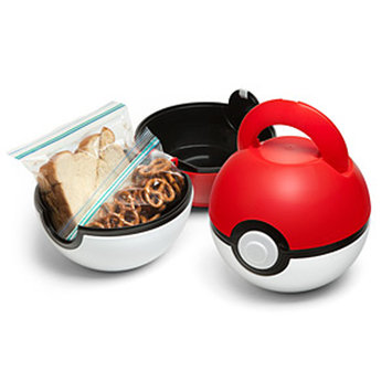 Poké Ball Lunch Case by ThinkGeek