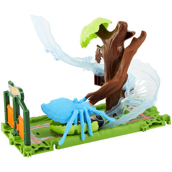 Mattel Hot Wheels City Spider Park Attack Play Set