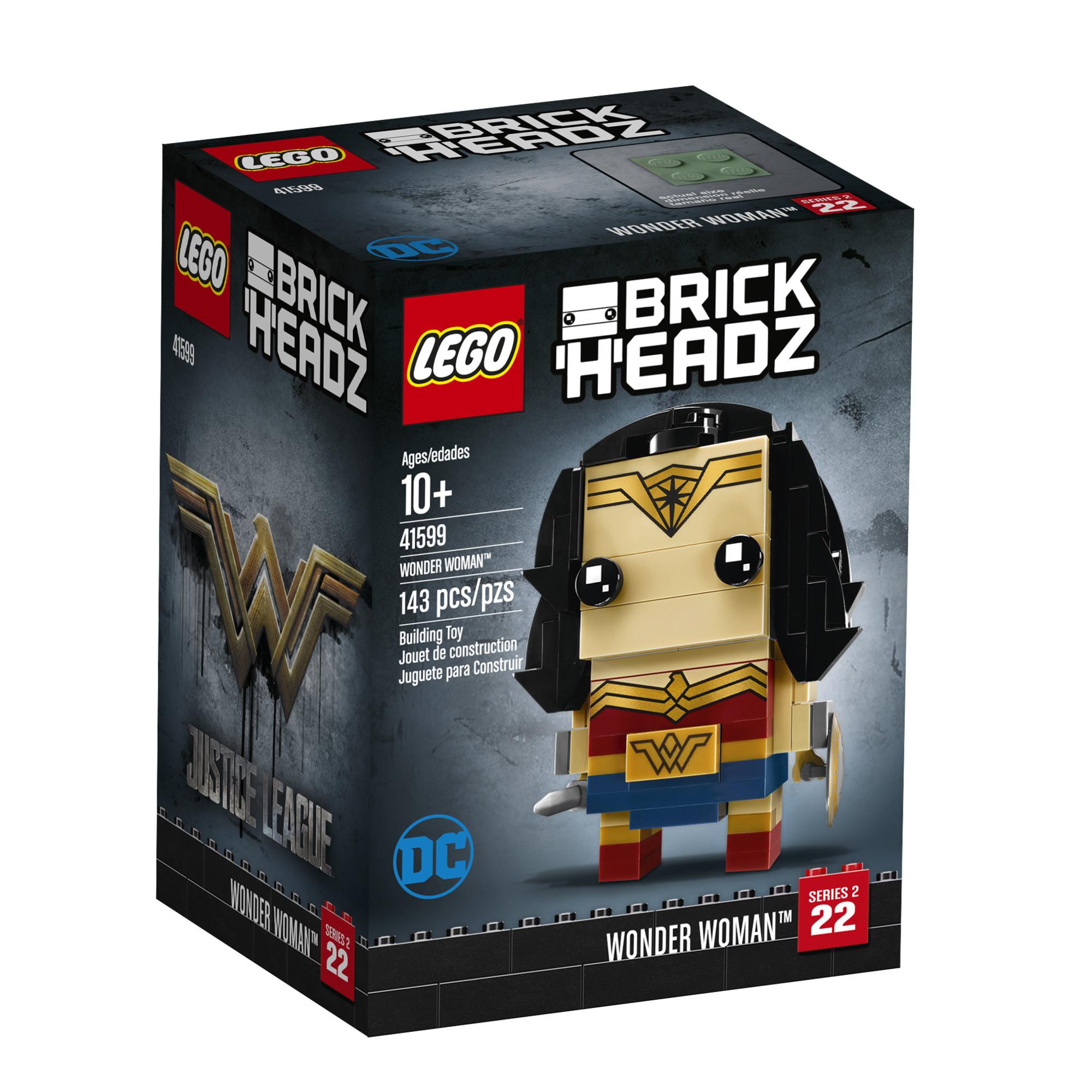 LEGO BrickHeadz Wonder Woman (41599)