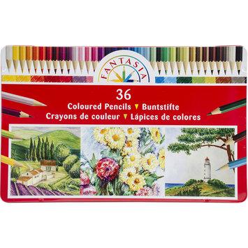 Pro-art Fantasia Color Pencil Tin 36/Pkg