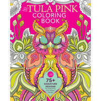 Fons & Porter Books-Tula Pink Coloring Book