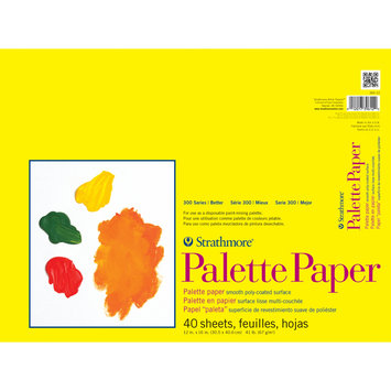 Strathmore Paper Palette Pad 12 in. x 16 in. sheets pad of 40