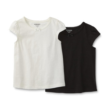 Reliance Universe Ltd. Infant & Toddler Girl's 2-Pack Basic T-Shirts