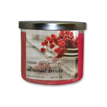 Star Candle Co. 14-oz. Artisan Scented Candle - Red Currant Berries