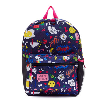 Fashion Accessory Bazaar Llc Girls backpack with attached Studio Grade headphones
