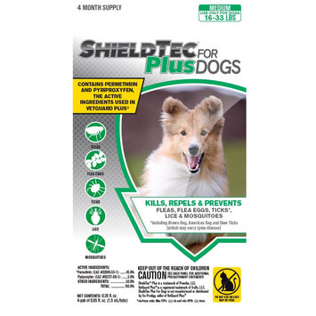 Horseloverz Shieldtec Plus For Dogs 4-Pack