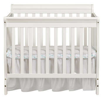 Shreeram Overseas Kayla 3 in 1 Mini Convertible Crib in White