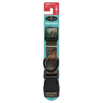 Mygofer Large Woodlands Adjustable Dog Collar 18-26