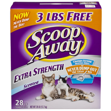 A & M Pet Products/catsanova Cat Litter, Scoopable, Extra Strength, Scented, 28 lb (12.7 kg)