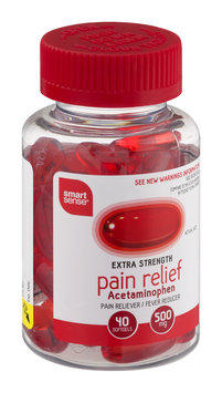 Mygofer Extra Strength Pain Relief Acetaminophen Softgels - 40 CT