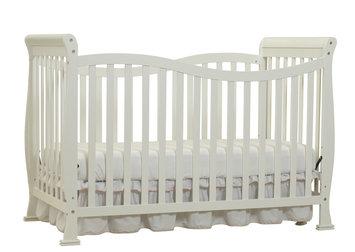 Shreeram Overseas Jessica 7 in 1 Convertible Crib in White