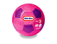 Little Tikes Large Soccer Glitter Ball, in colors Blue or Purple
