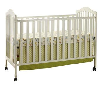 Shreeram Overseas Emily 2 in 1 Crib White