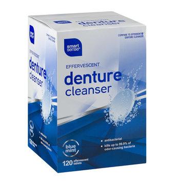 Mygofer Smart Sense Effervescent Denture Cleanser Tablets Blue Mint - 120 CT