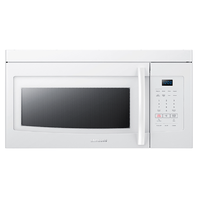 Samsung - 1.6 Cu. Ft. Over-the-range Microwave - White
