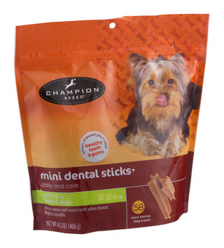 Mygofer Mini Dental Sticks Dog Treats - 58 CT