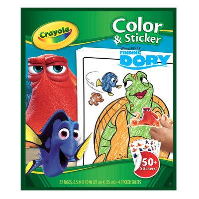 Crayola Color & Sticker Book - Minions, White