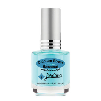 Jordana Cosmetics Corporation Calcium Boost Basecoat Underlying Calcium Gel Nail Strengthener .5 fl oz