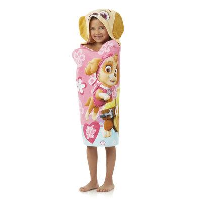 Franco Manufacturing Nickelodeon PAW Patrol Girls' Hooded Towel Wrap
