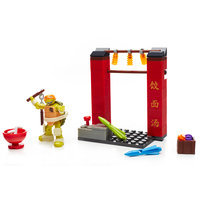 Mikey Chinatown Chase Set Mega Bloks 32717 Half Shell Heroes