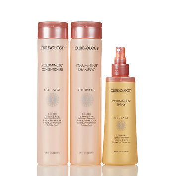 Cam Consumer Products, Inc. CureOlogy - Voluminous Hair Care Set