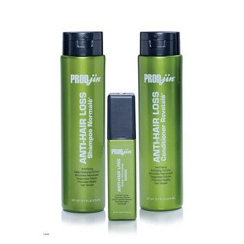Prodjin Anti Hair Loss System inclues Shampoo, Conditioner & Serum, 3 Ct