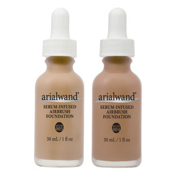 Cam Consumer Products, Inc. Arailwand Serum Infused Foundation DUO - Mocha & Natural Bronze
