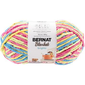 Spinrite Bernat Blanket Brights Big Ball Yarn-Sweet & Sour Variegated