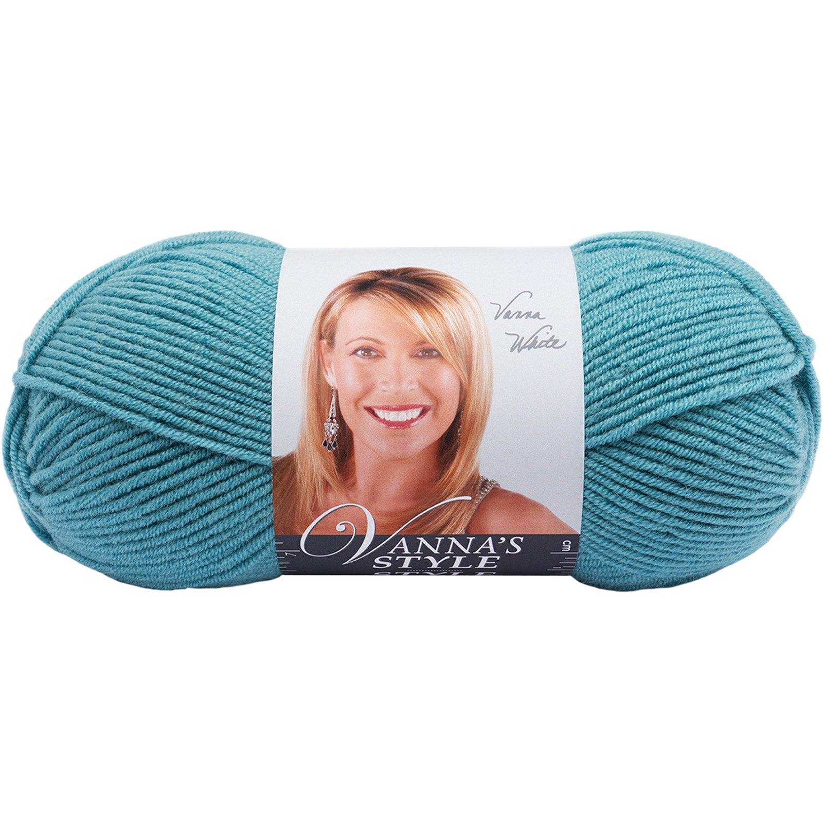 Lion Brand Vanna's Style Yarn-Teal