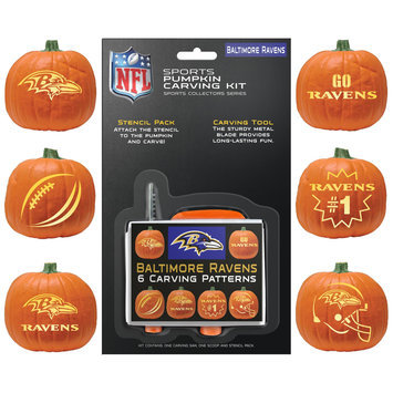 Baltimore Ravens Pumpkin Carving Kit Topperscot
