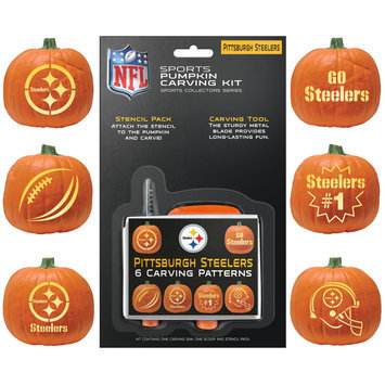 Pittsburgh Steelers Pumpkin Carving Kit Topperscot