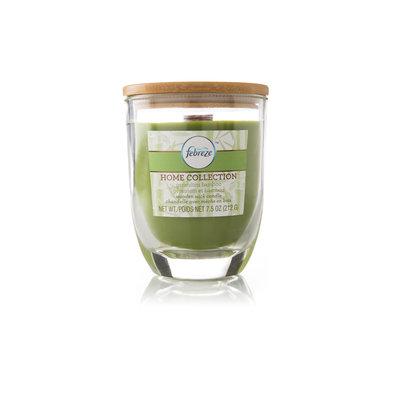 Mvp Group International Inc. Febreze 7.5 Oz. Home Collection Wooden Wick Candle - Geranium Bamboo