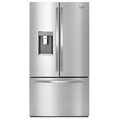 Whirlpool Appliances Whirlpool - Whirlpool 32 Cu. Ft. French Door Refrigerator With Thru-the-door Ice And Water - Stainless Steel
