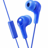 JVC Gumy Plus In-Ear Headphones w/ Mic - Blue