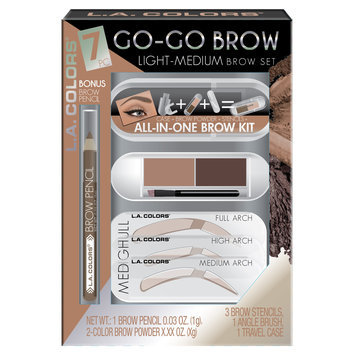 L.A. Colors GO-GO Brow Kit