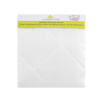 Triboro Quilt Mfg. Corp. Cuddletime Quilted Playard Sheet