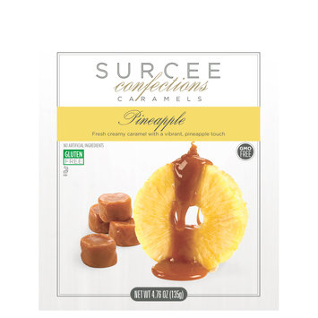 Cam Consumer Products, Inc. Surcee Caramels - Pineapple