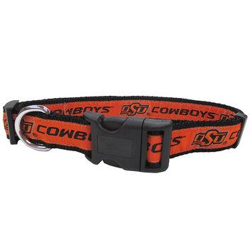 Pets First Collegiate Oklahoma State Cowboys Pet Collar, Medium