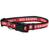 Pets First College Texas Tech Red Raiders Pet Collar, Medium