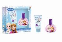Air-val International, S.a. Air Val Disney Frozen Eau de Toilette Natural Spray Net 1.7 fl oz, Shower Gel Net 2.04 fl oz