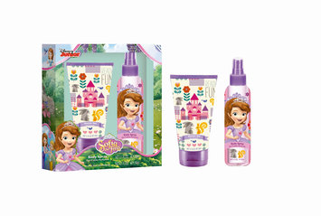 Air-val International, S.a. Air Val Disney Junior, Sofia the First Body Spray & Shower Gel, 2 x Net 5.1 fl oz
