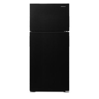 Amana - 16.0 Cu. Ft. Top-freezer Refrigerator - Black