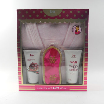 Upper Canada Soap be bath escapes Bath Robe Gift Set Berry Vanilla, Size: Standard