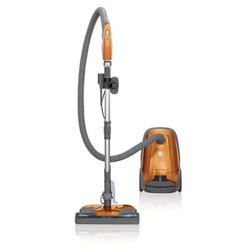 David Shaw Silverware Na Ltd Kenmore 81214 200 Series Bagged Canister Vacuum - Orange