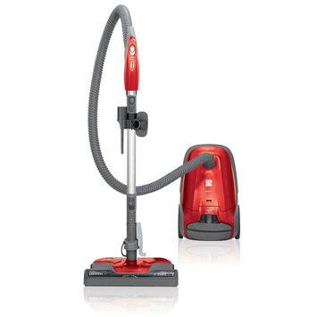 David Shaw Silverware Na Ltd Kenmore 81414 400 Series Bagged Canister Vacuum - Red