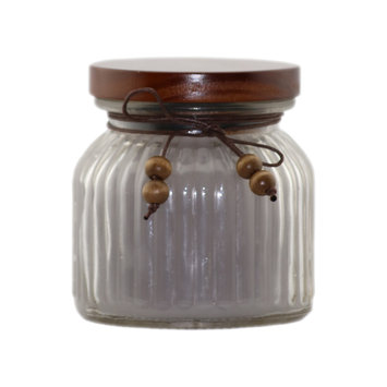 David Shaw Silverware Na Ltd Glass Jar Flameless Candle - Earl Grey Scented