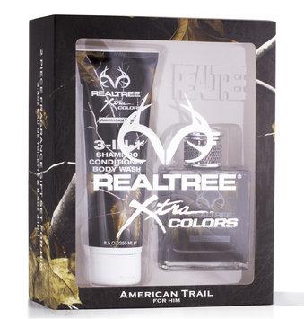 David Shaw Silverware Na Ltd RealTree American Trail for Him 2pc Gift Set