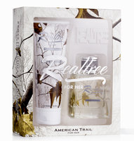 David Shaw Silverware Na Ltd RealTree American Trail for Her 2pc Gift Set