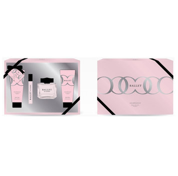 Cam Consumer Products, Inc. Solo Fragrances Ballet (Gucci Bamboo) 4pc Set (10/100ml Parfum, Body Lotion, Shower Gel)