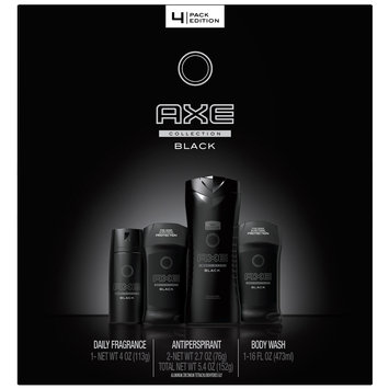 Unilever Home And Personal Care Usa AXE Holiday Gift Set for Men Black